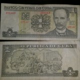1 peso cuban note