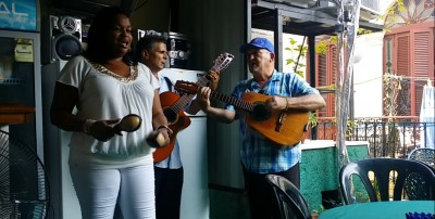 cuban band playing paladar